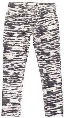 Etoile Isabel Marant Printed Skinny Pants