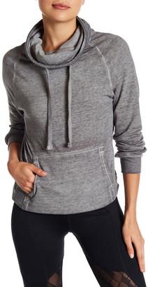 PLANET GOLD Danielle Long Sleeve Burnout Sweatshirt $34 thestylecure.com