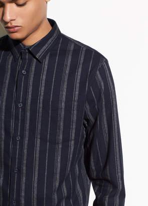 Flannel Stripe Long Sleeve