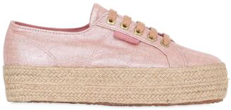 40mm 2790 Metallic Canvas Sneakers $132 thestylecure.com