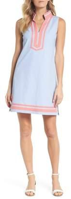 Eliza J Stripe Sleeveless Shift Dress
