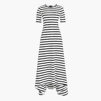 J.Crew Striped knit maxi dress