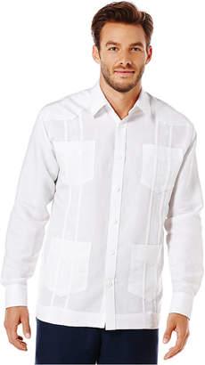 Cubavera Guayabera 4-Pocket Embroidered Shirt