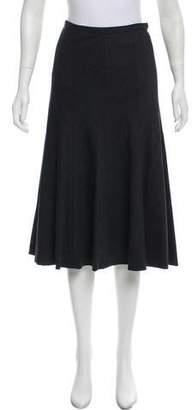 Michael Kors Wool Knee-Length Skirt