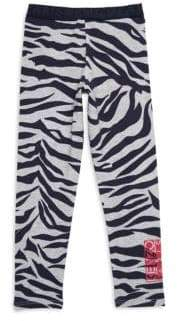 Kenzo Toddler's, Little Girl's & Girl's Printed Striped Leggings