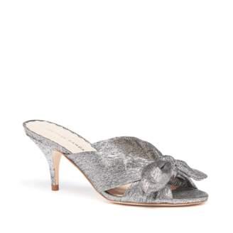 1cd75797d106 Silver Kitten Heel Women s Sandals - ShopStyle