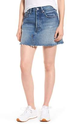 Levi's Distressed Denim Skirt