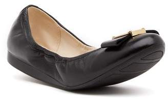 Cole Haan Emory Bow Leather Ballet II Flat