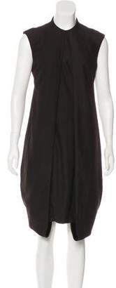 CNC Costume National Sleeveless Wool-Blend Dress