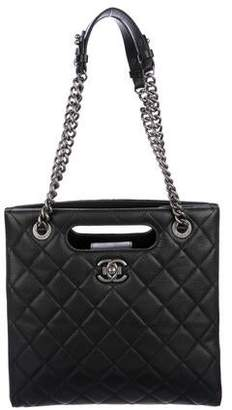 Chanel Small Quilted Tote