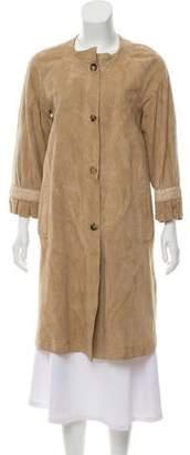 Malo Suede Long Coat