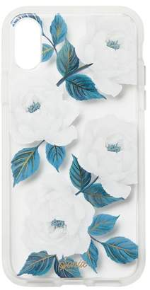 Sonix Sapphire Bloom Clear Coat Case For iPhone X