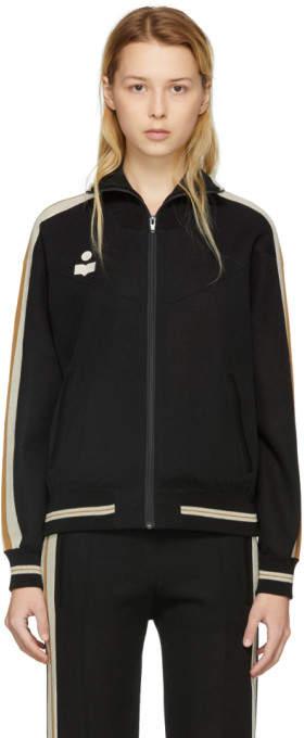 Black Darcy Track Jacket