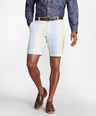 Brooks Brothers Multi-Stripe Seersucker Shorts
