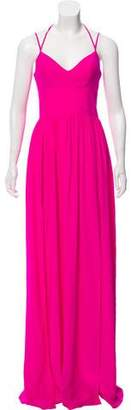 Amanda Uprichard Silk Maxi Dress