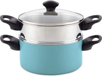 Farberware 3-Qt. Non-Stick Stack 'N' Steam Saucepot & Steamer