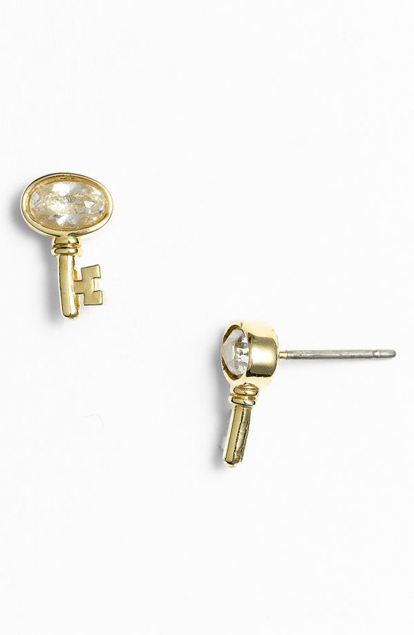 Juicy Couture 'Key to the Castle' Stud Earrings
