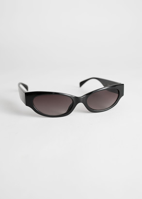 And other stories Slim Oval Sunglasses