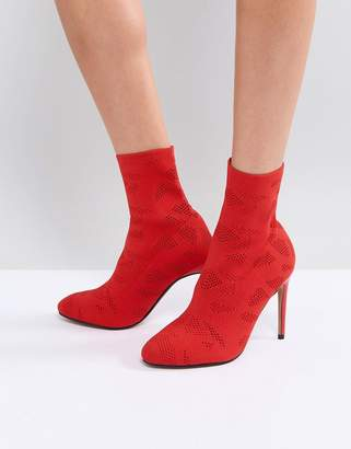 Asos Design ELYSSA Knitted Sock Boots