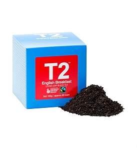 t2 Organic Free Trade English Breakfast 100G