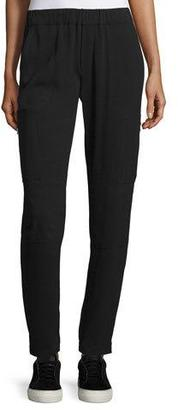 Vince Pull-On Cargo Pants, Black $295 thestylecure.com