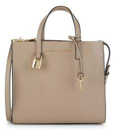 Marc Jacobs Mini Grind Stone Leather Satchel