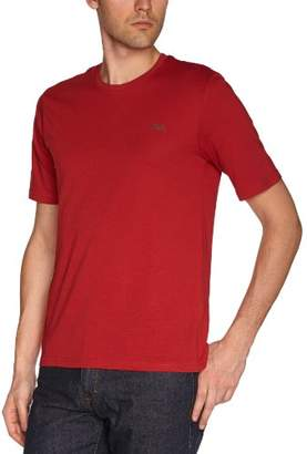 Rica Lewis Men's TS MC essentiel Plain or unicolor Round Collar Short sleeve T-Shirt - - - (Brand size: S)