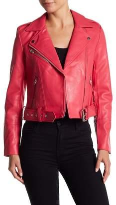 Vero Moda Faux Leather Moto Jacket