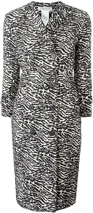 Max Mara Max Mara double breasted coat