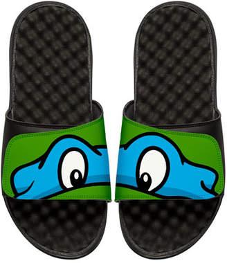 Leonardo ISlide Teenage Mutant Ninja Turtles Slide Sandal, Black