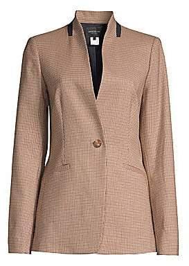 Lafayette 148 New York Women's Darcy Plaid Jacket