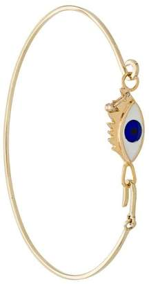 Delfina Delettrez 9kt yellow gold Grandma Eyes On Me bracelet