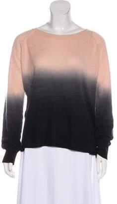360 Cashmere Cashmere Ombré Knit Sweater