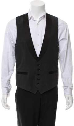 Dolce & Gabbana Plaid Suit Vest