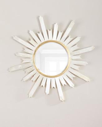 John-Richard Collection John Richard Collection Selenite Starburst Mirror