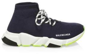 Balenciaga Lace-Up Speed Sock Sneakers