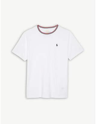 Ralph Lauren Logo striped cotton T-shirt S-XL