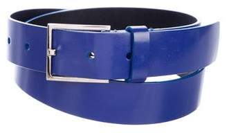 Christian Dior Leather Buckle Belt