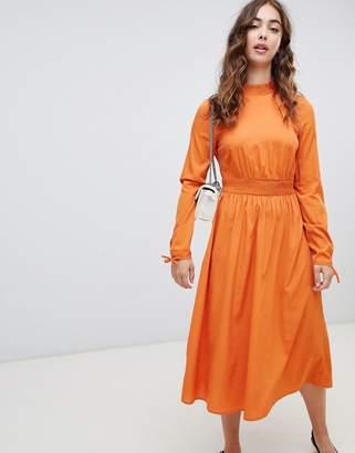 Vero Moda High Neck Maxi Dress