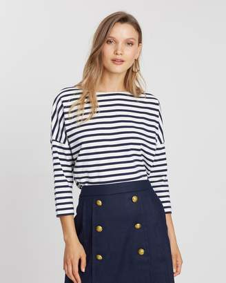 J.Crew Oversized Striped Tee
