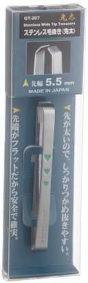 ステンレス製毛抜き(先太) GT-207