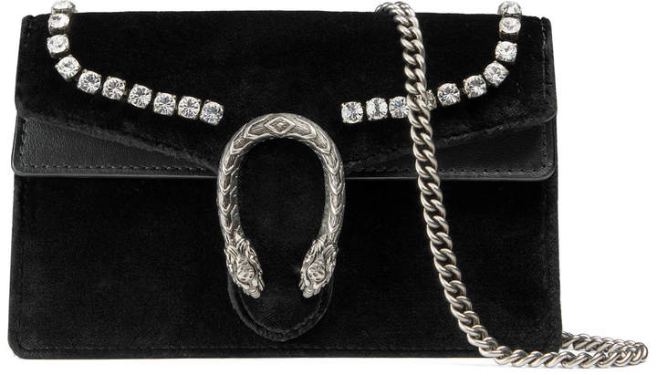 Dionysus super mini bag with crystals