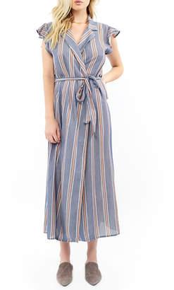 Saltwater Luxe Wrap Maxi Dress