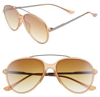 BP 55mm Aviator Sunglasses