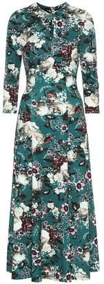 Erdem Caralina floral ponte-jersey dress
