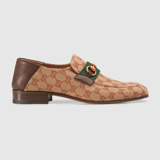 Gucci GG canvas Horsebit loafer