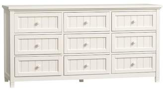 Pottery Barn Teen Beadboard 9 Drawer Dresser, Simply White