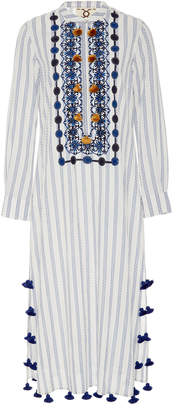 Figue Paolina Embroidered Cotton Caftan