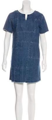 AllSaints Denim Mini Dress