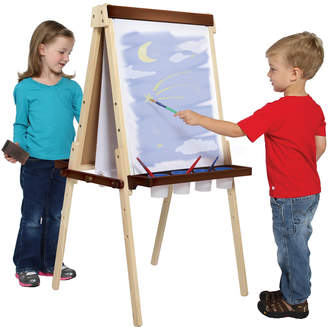 Guidecraft Double-Sided Wooden Floor Easel